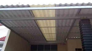 Contoh gambar kanopi dengan atap alderon-pasang kanopi tangerang termurah