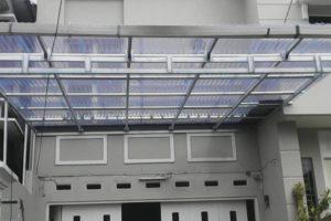 Gambar canopy baja ringan atap solatuf- kanopi murah tangerang