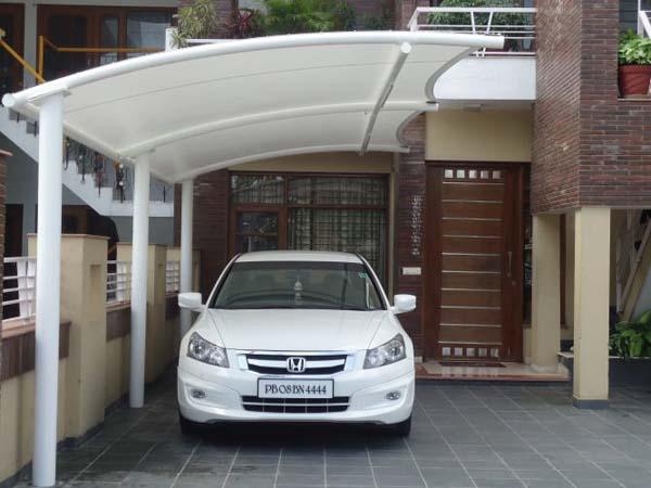 Gambar carport minimalis dari besi