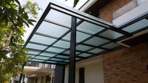 Gambar kanopi atap polycarbonate-