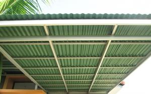 contog gambar kanopi baja atap gogreen-Pasang Kanopi Tangerang Termurah