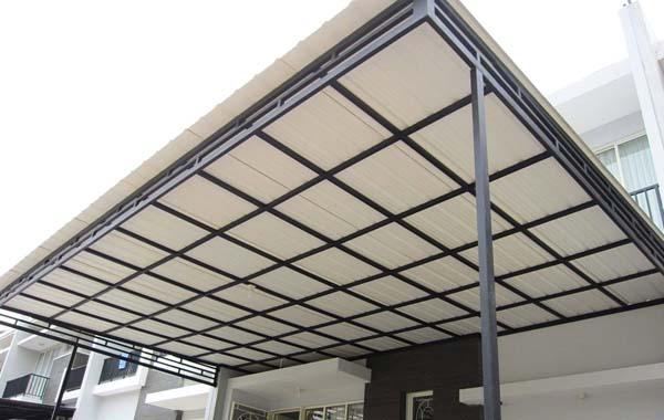 Gambar kanopi PVC-ji tangerangasa pasang kanopi terpercaya d