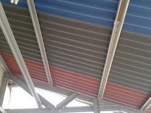 Gambar kanopi atap gogreen dengan pareasi warna