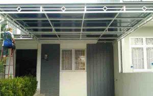 Gambar kanopi atap polycarbonate-pembuatan kanopi tangerang